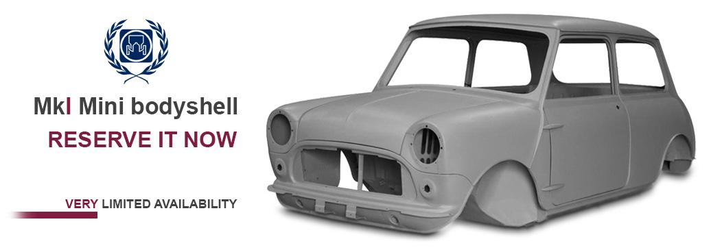 BMH Classic Mini MkI Bodyshells