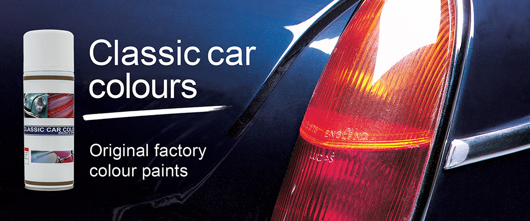 Classic Car Colour spray & Brush-on paints