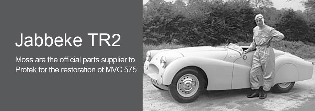 Jabbeke TR2 MVC 575 Restoration Project
