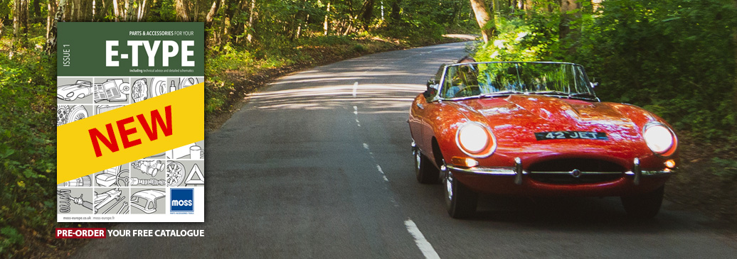Pre-Order our brand new Free E-Type Catalogue today!