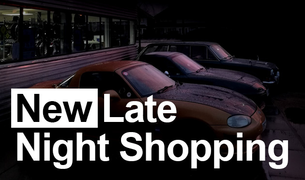 New late night opening hours