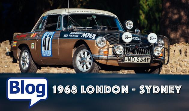 1968 London to Sydney MGB Blog