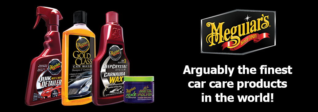 Meguiars surface and car care products