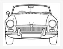 MG MGB, C & V8