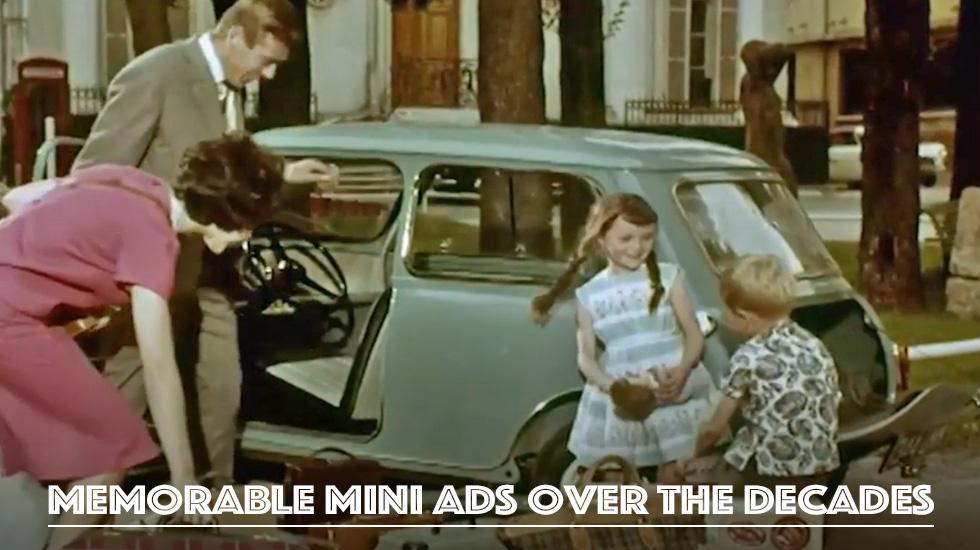 Memorable Mini ads over the decades