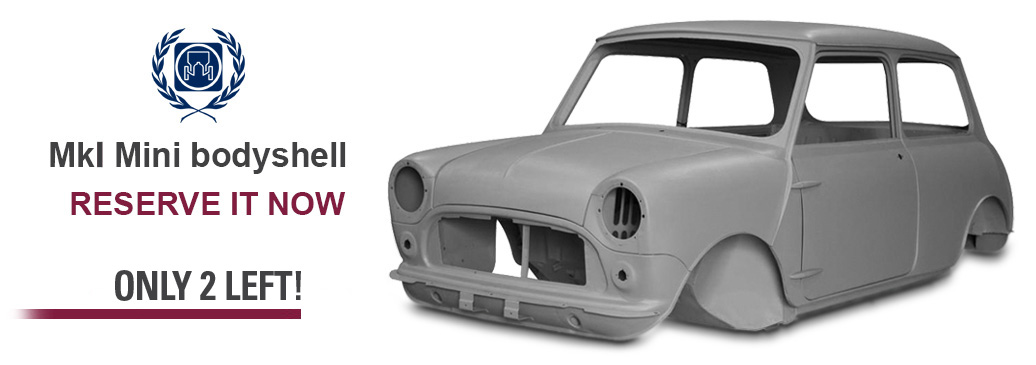 British Motor Heritage MK1 Mini Bodyshell