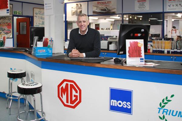 Moss Commercial Director Alex Chaperlin