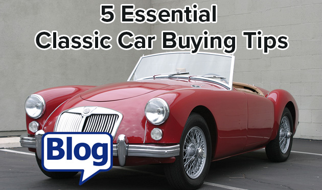 5 essential classic car buying tips