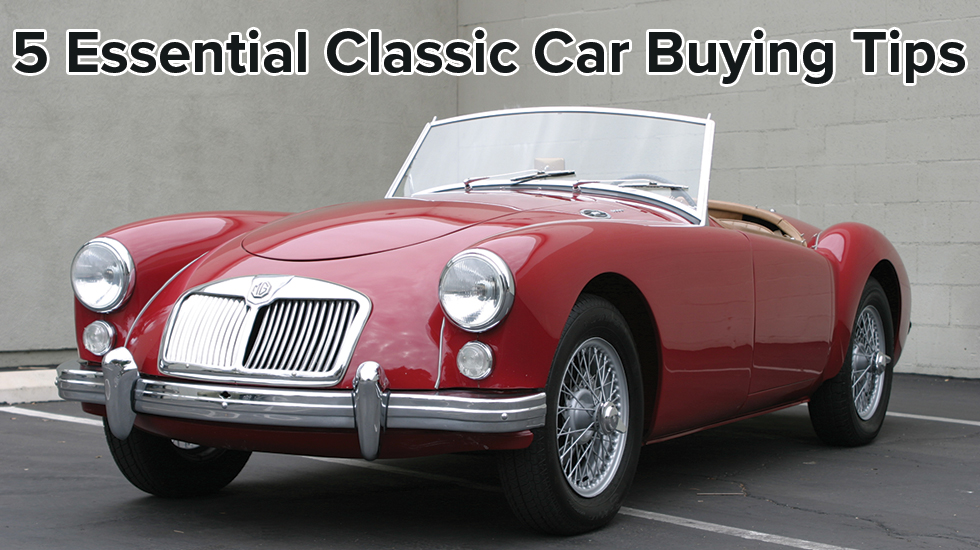 5 essential classic car buying tips main image