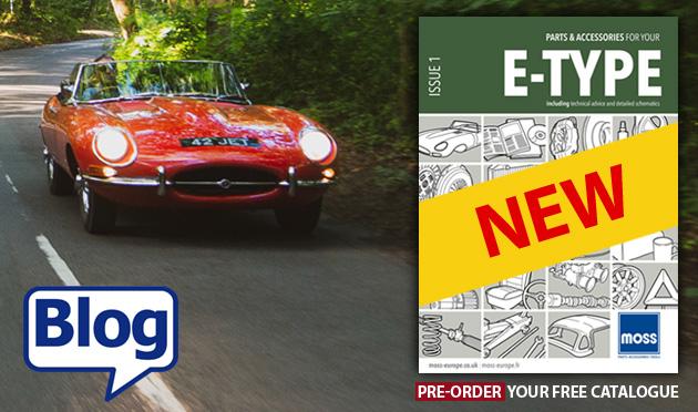 The history of the Jaguar E-Type catalogue