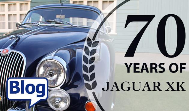 Celebrating 70 years of the Jaguar XK