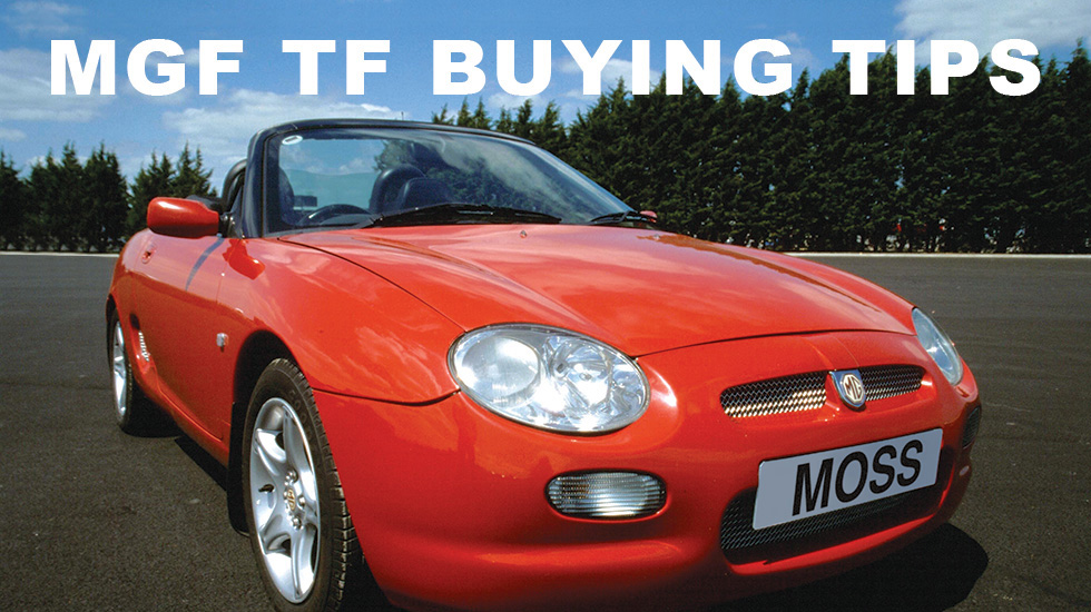 Buying tips for the MGF/TF main image