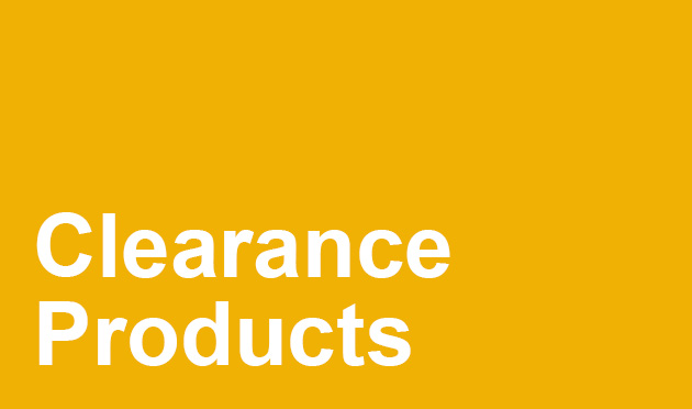 Grab yourself a bargain with massive savings on our NEW Clearance page!