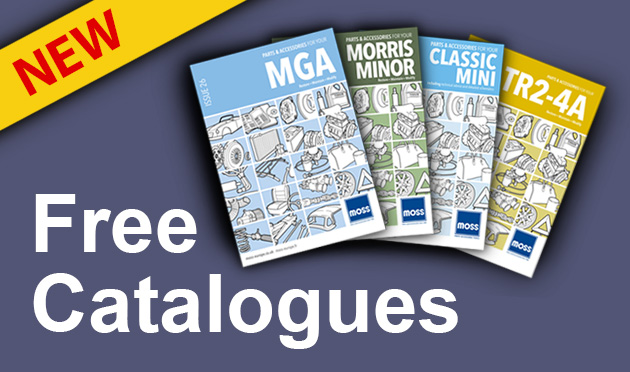 Free* Moss parts & accessories catalogues