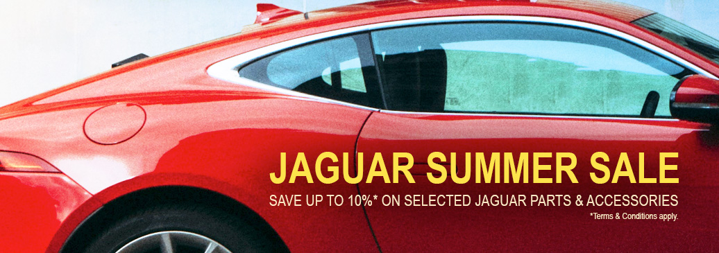 Save up to 10% across our range of modern & classic Jaguar parts & accessories.*