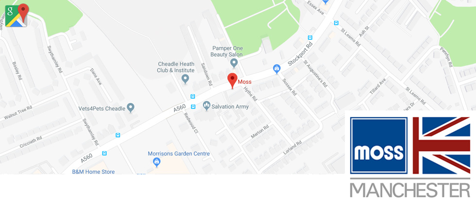 Moss Manchester Google Maps Image