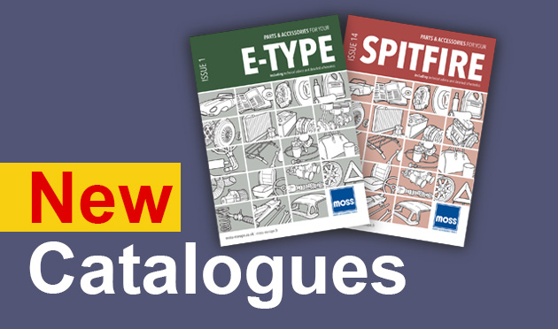New Moss parts & accessories catalogues