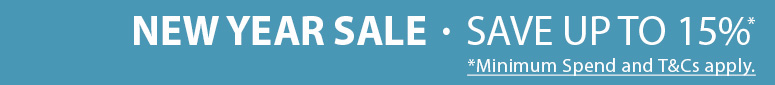 Save up to 15% on thousands of parts & accessories in our New Year Sale!