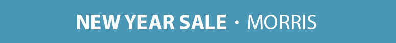 Save up to 15% on Morris parts & accessories in our New Year Sale!