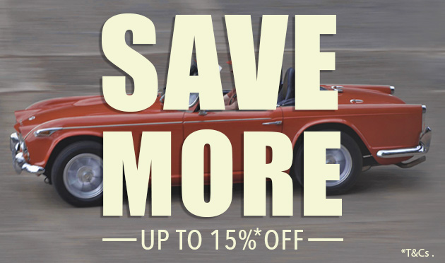 Save More Sale 2020 - Save Up To 15%*