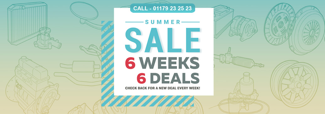 Summer Sale, 6 Weeks - 6 Deals!