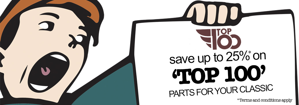 Top 100 Sale - Save up to 25% off our top 100 products