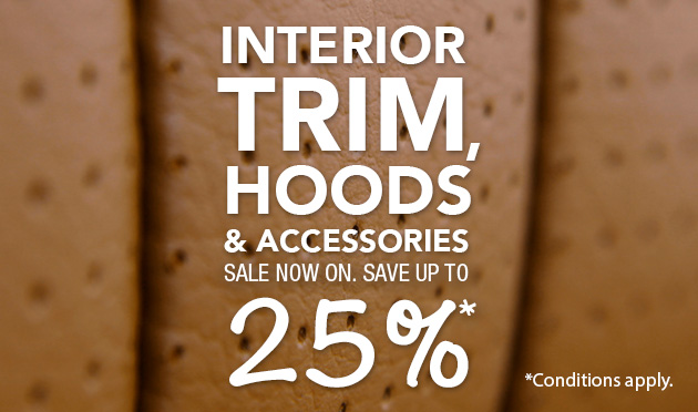 Trim Sale - Save Up To 25%* On Selected Products