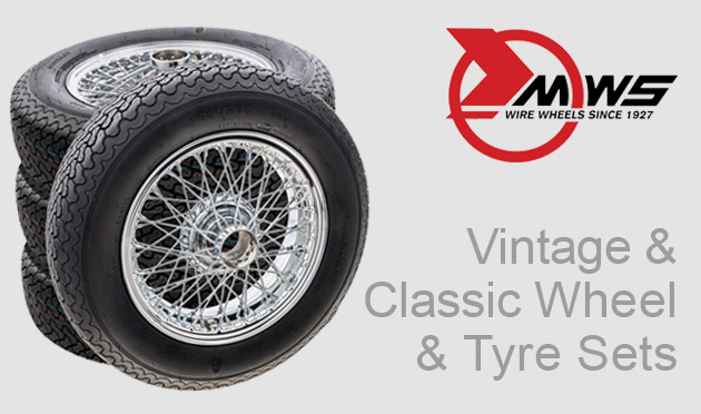 vintage & classic wheel & tyre sets
