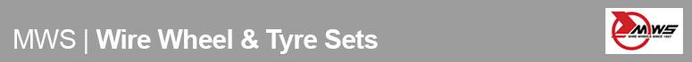 Motor Wheel Services Wire Wheel & Tyre Sets
