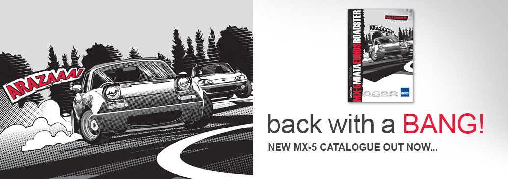 Get your hands on the brand new MX-5 catalogue!