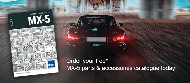 Free MX-5 parts & accessories catalogue