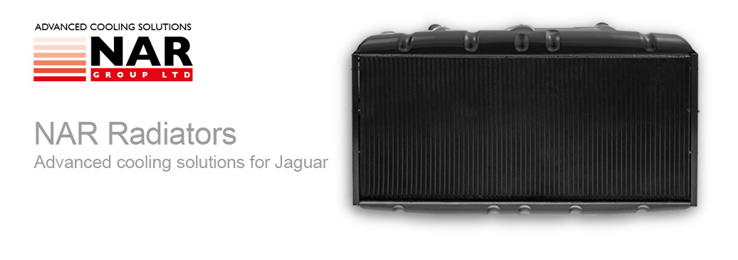 NAR Radiators, advanced cooling solutions for Jaguar