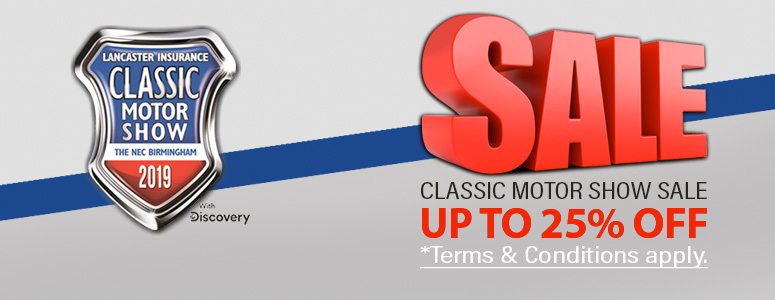 Classic Motor Show Sale Save Up To 25%*