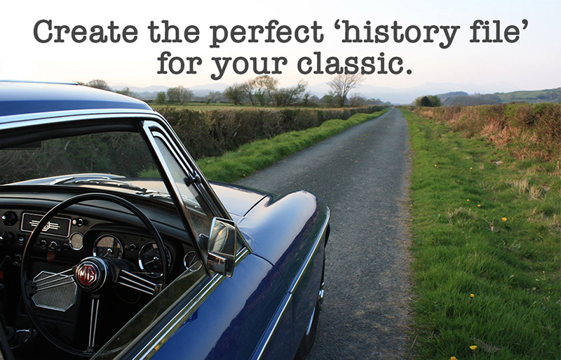 Create the perfect 'history file' for your classic