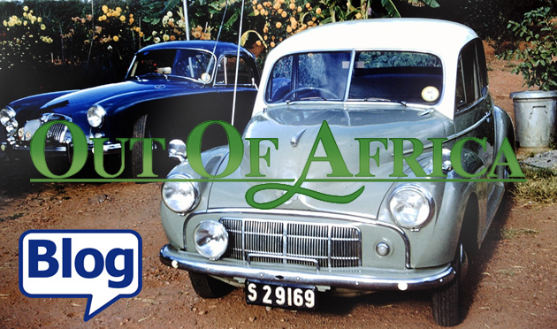 Out Of Africa Morris Minor blog
