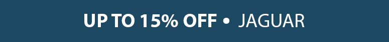 Save Up To 15% across our range of Jaguar parts & accessories