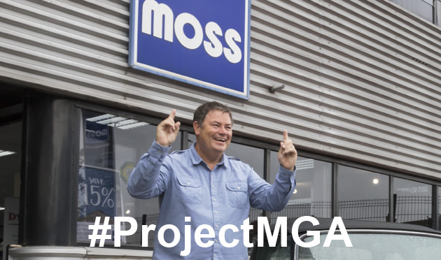 Mike Brewer #ProjectMGA Moss Europe visit