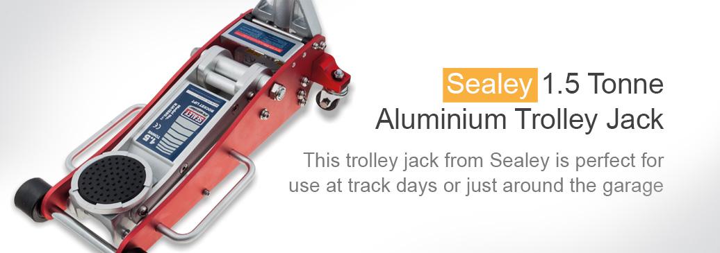 Sealey 1.5 Tonne Trolley Jack