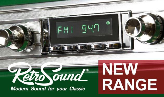RetroSound Radios & RetroMod Speakers