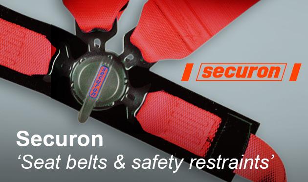 Securon seat belts & safety restraints