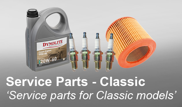 Service parts for classic models