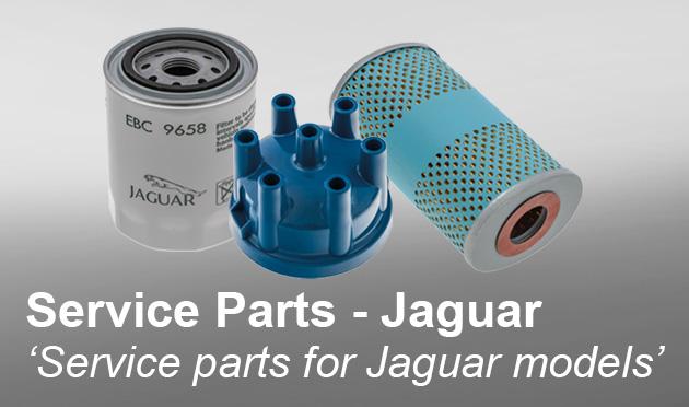 Service parts for Jaguar models