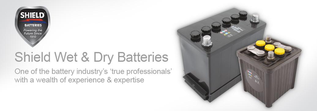Shield Wet & Dry Batteries