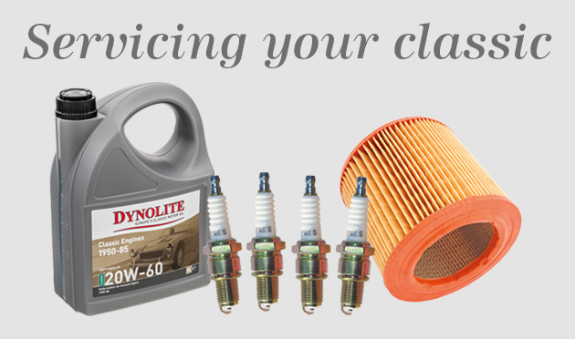 Service parts for your classic