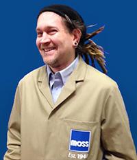 Moss Bristol Sales Coordinator Tony Feltham