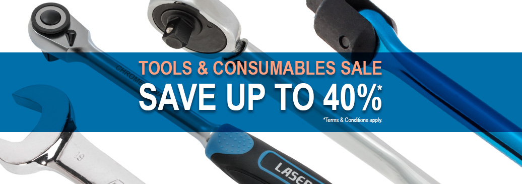 Save up to 40% across our range of tools, equipment and consumables.*