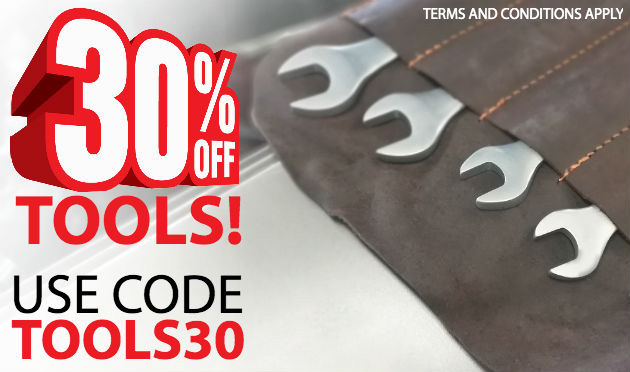 Use Discount Code TOOLS30 To Get 30%* Off All Tools & Equipment!