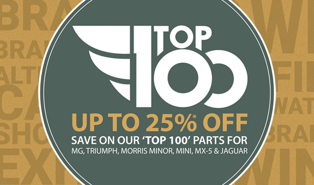 Top 100 Sale 2019 - Save up to 25%!