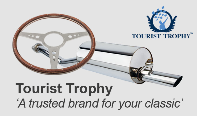 Tourist Trophy High Quality Exhaust Systems & Steering Wheels