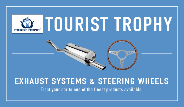 Tourist Trophy Exhaust Systems & Steering Wheels